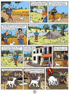 Extrait de Tintin - Pastiches, parodies & pirates - La bête de la sorcière
