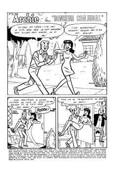 Extrait de Archie (1ère série) (Éditions Héritage) -65- Bonheur conjugal