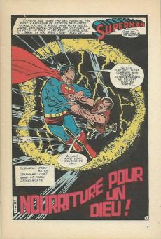 Extrait de Superman (Poche) (Sagédition) -50- Nourriture pour un dieu