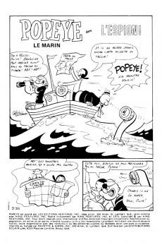 Extrait de Popeye le marin (Éditions Héritage) -12- L'espion !