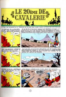 Extrait de Lucky Luke -27a1982- Le 20ème de cavalerie