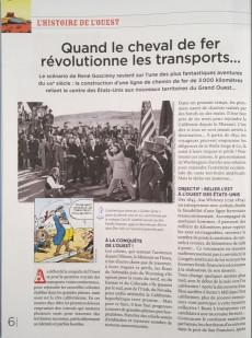 Extrait de Lucky Luke - La collection (Hachette 2018) -917- Des rails sur la prairie