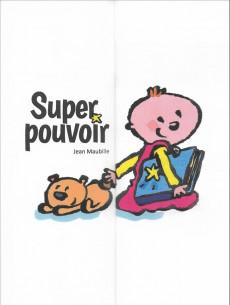 Extrait de (AUT) Maubille, Jean - Super pouvoir