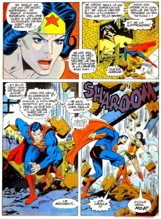 Extrait de Superman contre Wonder Woman (Éditions Héritage) - Superman contre Wonder Woman