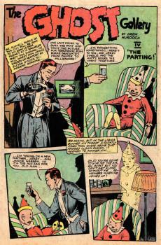 Extrait de Ghost (Fiction House - 1951) -1- The Banshee Bells/Flee the Phantoms