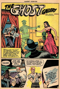 Extrait de Ghost (Fiction House - 1951) -3- The haunted hand of X/Dark eyes of destiny