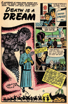 Extrait de Ghost (Fiction House - 1951) -4- Flee the Mad Furies/Death is a Dream/The Trumpet of Valkyrie
