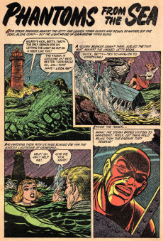 Extrait de Ghost (Fiction House - 1951) -5- The hex of the ruby eye/Satan owned his soul!