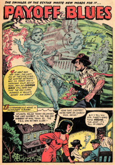 Extrait de Ghost (Fiction House - 1951) -6- The Sleepers in the Crypt