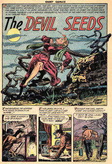 Extrait de Ghost (Fiction House - 1951) -9- It crawls by night/The devil seeds