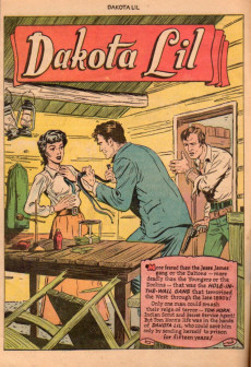 Extrait de Fawcett Movie Comic (1949/50) -1- Dakota Lil