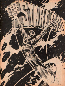 Extrait de Marvel Preview (Marvel comics - 1975) -4- Starlord first house: earth!
