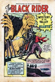 Extrait de Black Rider (Atlas - 1950) -8- Valley of Giants!