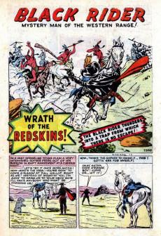 Extrait de Black Rider (Atlas - 1950) -9- The Wrath of the Redskin!