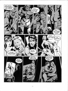 Extrait de Les grands Classiques de la Bande Dessinée érotique - La Collection -8888- Carré noir sur dames blanches