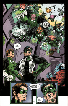 Extrait de Green lantern (1990) -100VC- In Brightest Days Past