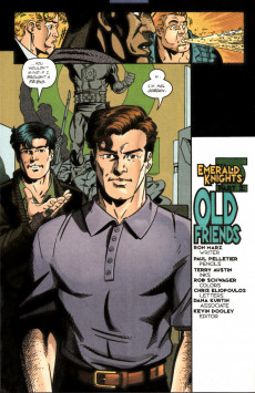 Extrait de Green lantern (1990) -102- Emerald Knights part 2: Old Friends