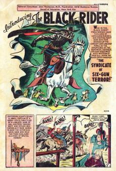 Extrait de All Winners (puis All-Western Winners et Western Winners) (Timely/Atlas/Marvel - 1948) -2- All-Western Winners