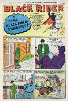 Extrait de All Winners (puis All-Western Winners et Western Winners) (Timely/Atlas/Marvel - 1948) -4- Black Rider -- Unmasked!
