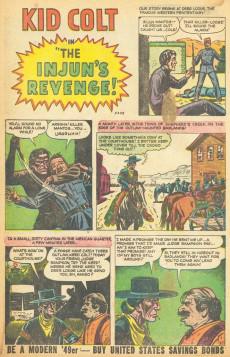 Extrait de All Winners (puis All-Western Winners et Western Winners) (Timely/Atlas/Marvel - 1948) -6- The Cobra Strikes!