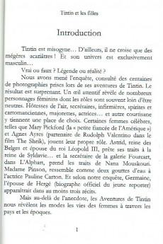 Extrait de (AUT) Hergé - Tintin & les filles