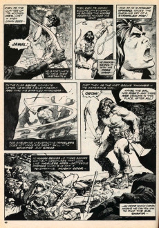 Extrait de Savage Sword of Conan The Barbarian (The) (1974) -3- Demons of the Summit