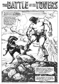 Extrait de Savage Sword of Conan The Barbarian (The) (1974) -18- Battle with the Death Wizards