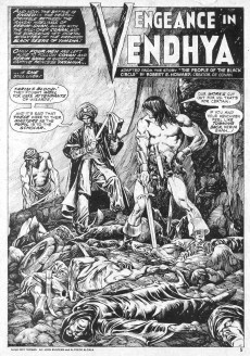 Extrait de Savage Sword of Conan The Barbarian (The) (1974) -19- Wings of Death