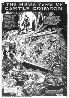 Extrait de Savage Sword of Conan The Barbarian (The) (1974) -12- The Haunters of Castle Crimson