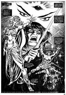Extrait de Savage Sword of Conan The Barbarian (The) (1974) -35- Dark eyes of death