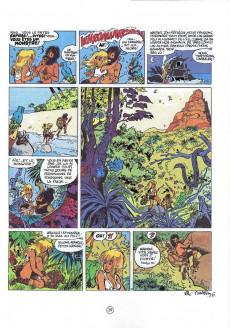 Extrait de Natacha -10b01- L'île d'outre-monde