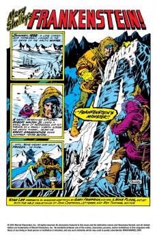 Extrait de Monster of Frankenstein (The) (Marvel - 1973) -1- It's alive!