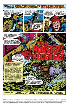 Extrait de Monster of Frankenstein (The) (Marvel - 1973) -3- Revenge!