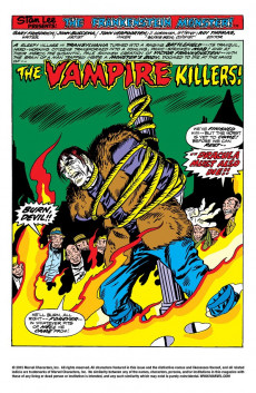 Extrait de Monster of Frankenstein (The) (Marvel - 1973) -9- One must die!