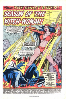 Extrait de Marvel Spotlight Vol 1 (1971) -11- The Spells of the Witch-Woman!