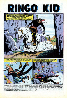 Extrait de Ringo Kid (The) Vol 2 (Marvel - 1970) -3- The Man from the Panhandle!