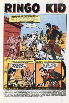 Extrait de Ringo Kid (The) Vol 2 (Marvel - 1970) -7- The Terrible Treasure of Vista del Oro!