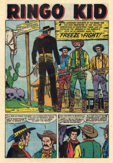 Extrait de Ringo Kid (The) Vol 2 (Marvel - 1970) -10- Bad Day at Black Creek!