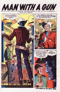 Extrait de Ringo Kid (The) Vol 2 (Marvel - 1970) -12- A Badge To Die For!