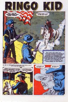 Extrait de Ringo Kid (The) Vol 2 (Marvel - 1970) -13- Hostage at Fort Cheyenne!