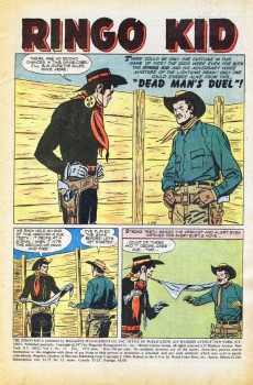 Extrait de Ringo Kid (The) Vol 2 (Marvel - 1970) -14- Showdown in the Silver Cartwheel!