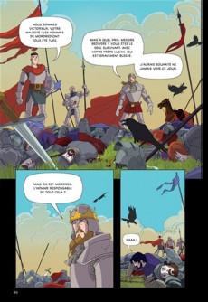Extrait de Les aventures du roi Arthur