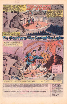 Extrait de Superboy (1949) -230- The Creature Who Conned the Legion