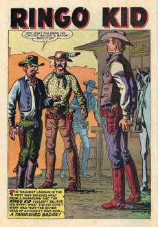 Extrait de Ringo Kid (The) Vol 2 (Marvel - 1970) -19- Thunder from the West!