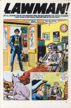 Extrait de Ringo Kid (The) Vol 2 (Marvel - 1970) -22- The Man from the Panhandle!