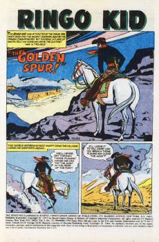 Extrait de Ringo Kid (The) Vol 2 (Marvel - 1970) -23- The Golden Spur!