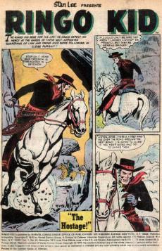 Extrait de The ringo Kid Vol 2 (Marvel - 1970) -24- Showdown in Cheyenne!