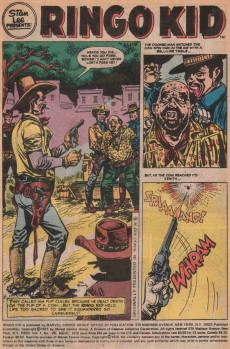 Extrait de Ringo Kid (The) Vol 2 (Marvel - 1970) -26- The Madman of Thunder Gap!