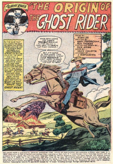Extrait de Ghost Rider Vol.1 (Marvel Comics - 1967) -1- The Origin of the Ghost Rider!