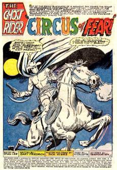 Extrait de Ghost Rider Vol.1 (Marvel Comics - 1967) -3- Cougar's